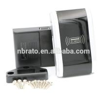 Bloco eletrônico de gabinete eletrônico digital inteligente preto cromado