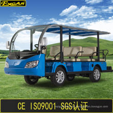 Heißer Verkauf China 11 Sitzer Batterieleistung Sightseeing Bus