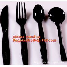 Silvery plastic fork disposable cutlery set Disposable palstic cutlery silver fork and spoon Disposable titanium spork plastic f
