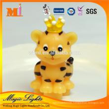 Zodiac Type Lovely The Tiger Shaped Birthday Candle for sale