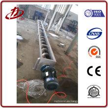 Alta eficiencia Transportador de tornillo flexible de bajo coste