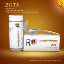 Rouleau de Derma de titane pour l'acné Scar Zeck de ride de rousseur