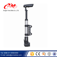 Wholesale top quality cycle floor pump/Yimei OEM service hand pump for bike tire/China cheap bike pump foa sale