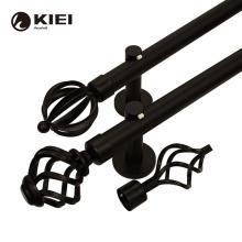 kyok curtain rod adjustable 3m  bedroom curtain rod black