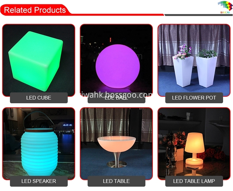 RGB Waterproof Bluetooth Led Speakers