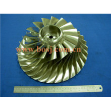 T61 Turbo Billet Kompressor Rad Impeller Blade 409318-0008 Fit Cat Turbo 465984 / 465984-0001 / 2/3/5/7/8/9 Fabriklieferant Thailand