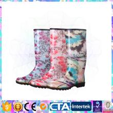 New Fashion rain boots Environmental latest design women rain boots