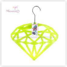 Cintre en plastique en forme de diamant de PP (36 * 31cm)