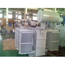Transformador de potência / subestação de potência imersa em óleo