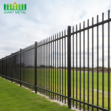 Australia Standard Powder Coated Steel Aluminum Fence