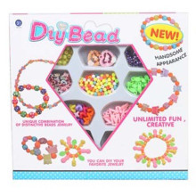 Hot Sale Intelligent Plastic Toys DIY Beads for Girl (10215510)