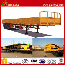 2016 New Product Side Wall Drop Container Transport Semi Trailer/Cargo Trailer