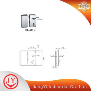 SS304 Sliding Glass Door Security Locks