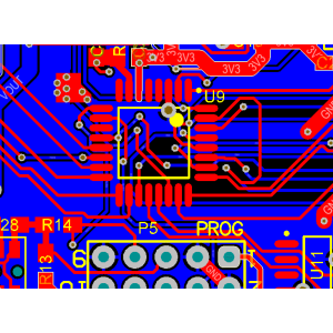 Electronic PCB Design Precision Chip