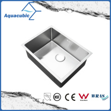 Tazón de fuente hecho a mano del acero inoxidable del fregadero de la cocina de Cupc (ACS6045R)