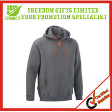 Werbeartikel CVC Jacket Fleece Hoody mit Reißverschluss