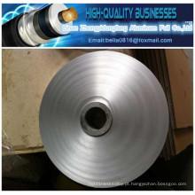 Pet Cable Material de isolamento Clear Mylar Tape Alumínio Pet Hielding Aluminum Cable Foil