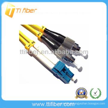 FC-LC SM Duplex Cabo de conexão de fibra óptica