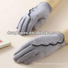 Luvas de lã de inverno para tela sensível ao toque