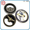 Factory Sell Cheap Challenge Coin with Opener Function