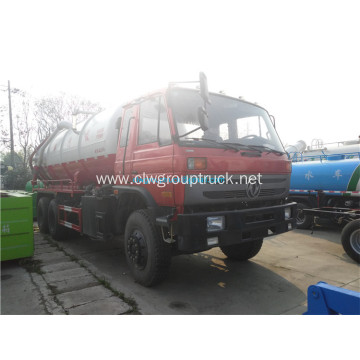 DFAC 6x4driven Small vacuum sewage suction tanker truck