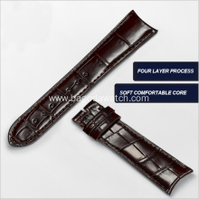 America genuine crocodile leather watch band 20mm