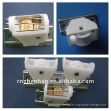 outdoor bamboo blinds-bamboo blind cord lock and cord pulley-bamboo blind components-curtain pulley