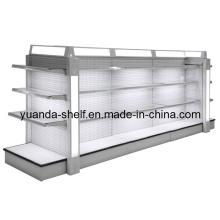 Steel Supermarket Cosmetic Goods Display Luxury Shelf