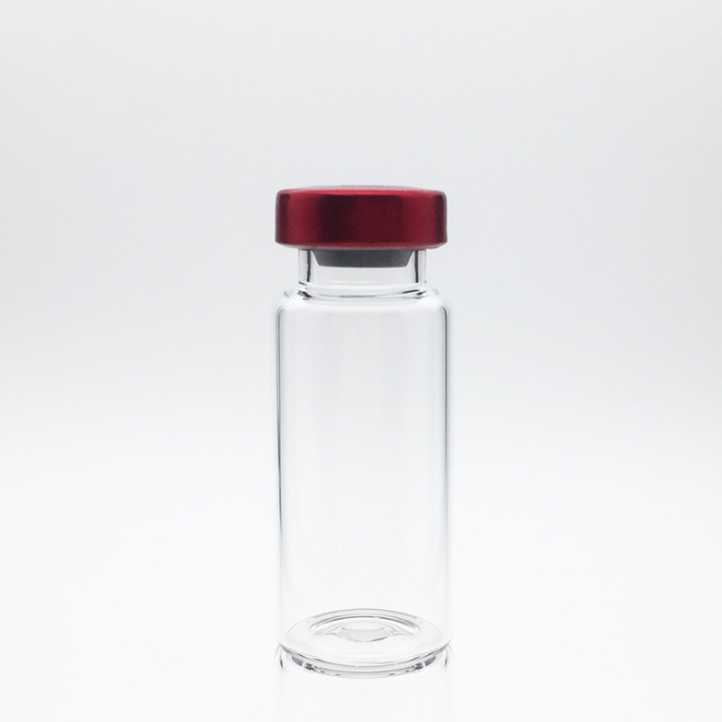 8ml Sterile Serum Vials Red