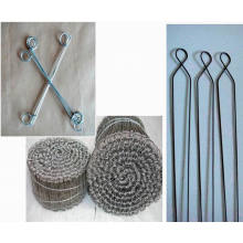 4''copper Coated Rebar Wire Krawatten, 7''sack Krawatten, 6,5''double Loop Tie Drähte