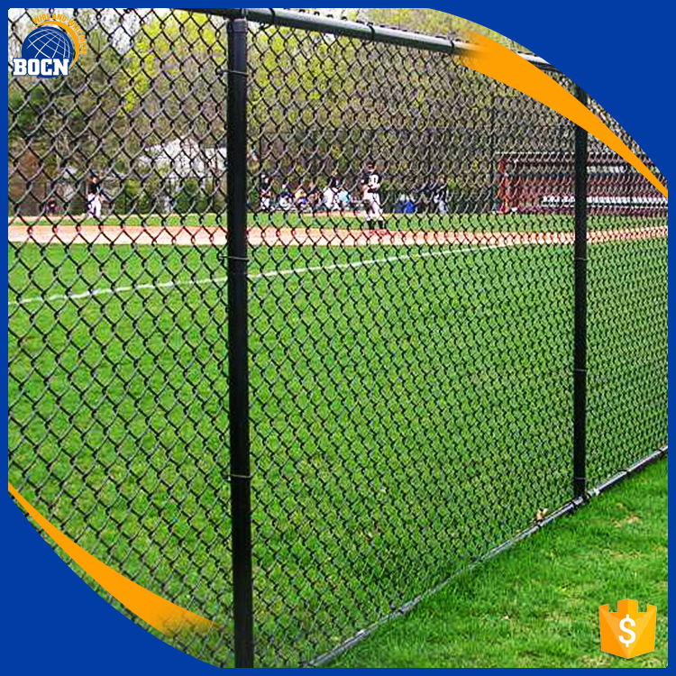 Paint Chain Link Fence Black China Manufacturer