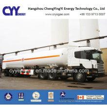 2015 Sauerstoff-Stickstoff-Argon-Cabochon-Dioxid-kryogener Tankwagen