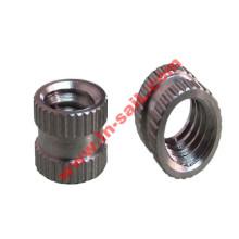 Stainless Steel Straight-Knurl Insert Round Nuts