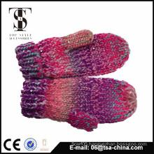 The hot selling winter acrylic gloves fingerless