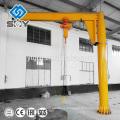 Bras d'atelier ZB-A grue de potence de pilier d'oscillation de colonne modèle, pivot de grue d'acier inoxydable