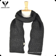 Зима толстый мужской шарф Вязание