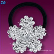 Gorgeous cristal de la venda del pelo de las muchachas, venda cristalina del pelo de la flor de las muchachas, accesorios del pelo wedding la venda del pelo