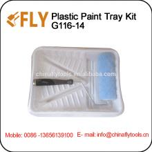 2pcs Paint Tray Set