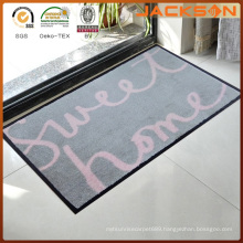 Printed Manufacturers Outside Recycled Rubber Door Mat
