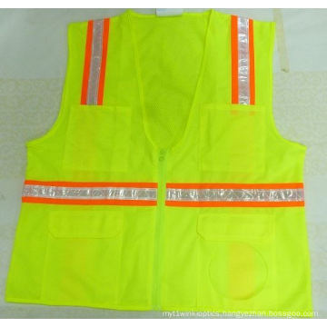 Custom High Visibility Road Protective Reflective Safety Vest