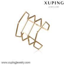 51582 xuping 18k plaqué or mode élégant bracelet manchette