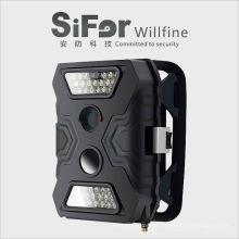 câmera de segurança do sensor de movimento 12MP 720P vídeo de acesso sem fio ao ar livre celular acesso remoto
