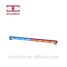 Rojo y azul policía crucero coche luz Led barra de luz de direccional de tráfico asesor