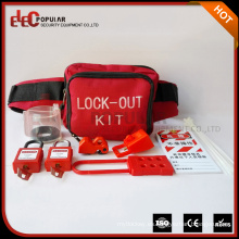 Elecpopular Fábrica de venta al por mayor de tamaño pequeño puede colgar en la cintura de seguridad individual portátil Kit
