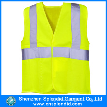 China Garment Factory Workwear High Visibility Reflective Safety Vest