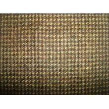 Tissu en laine de Ginghem teinté en fil épais