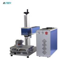 Machine d'inscription de bureau en métal pour laser à fibre