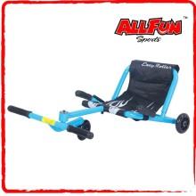 Flashing wheels wave roller plastic toy