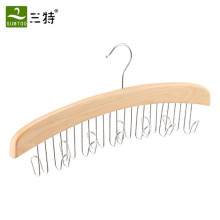 12 Belts Organizer Деревянная вешалка для ремней
