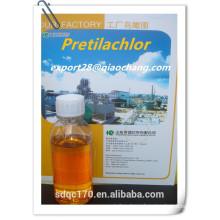 Agrochemical Pretilachlor Herbicide 95%TC 500g/l EC 300g/lEC CAS: 51218-49-6